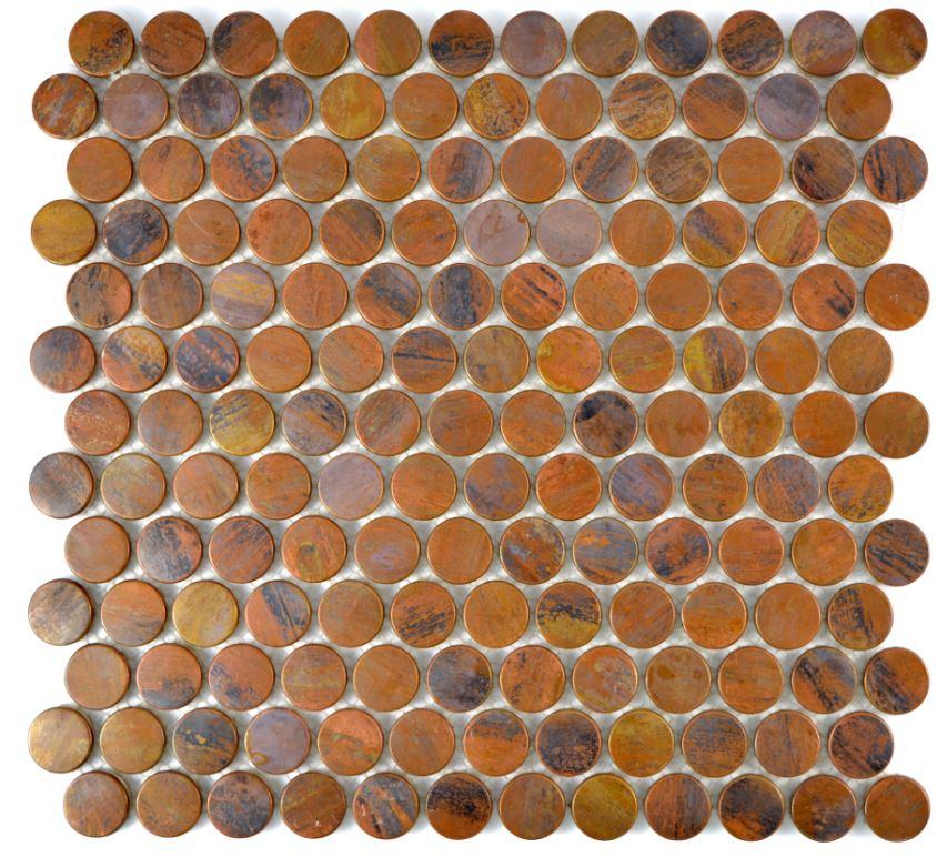Mozaika Miedziana Ruda Kółko Metropol Mm 0729 298x282