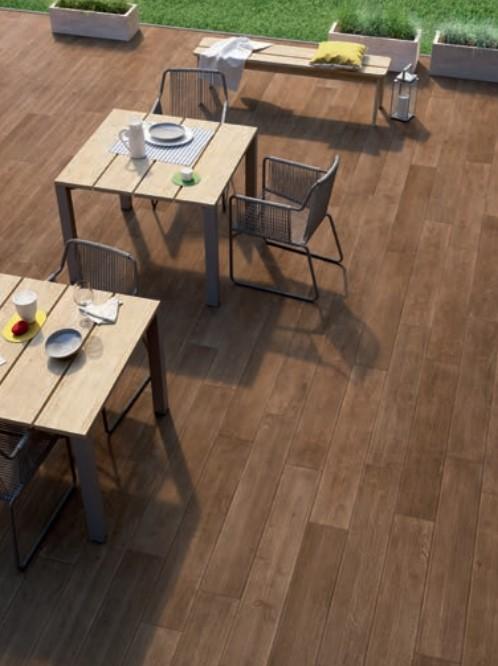 Płytki Drewnopodobnetarasowe Marazzi Treverktime Walnut Mm8u Outdoor 20x120 Ag