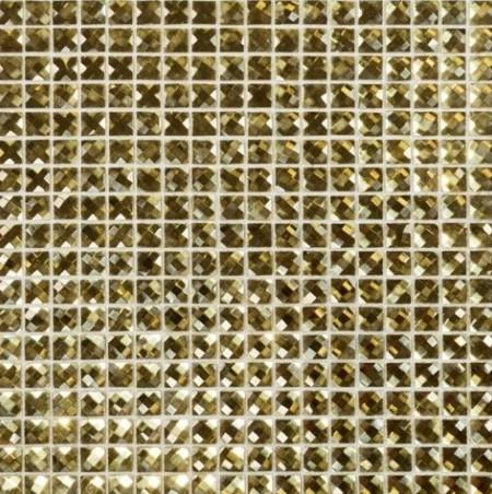 Mozaika Złota Diamentowa Lustzrana Dell Arte Gold Diamond 30x30