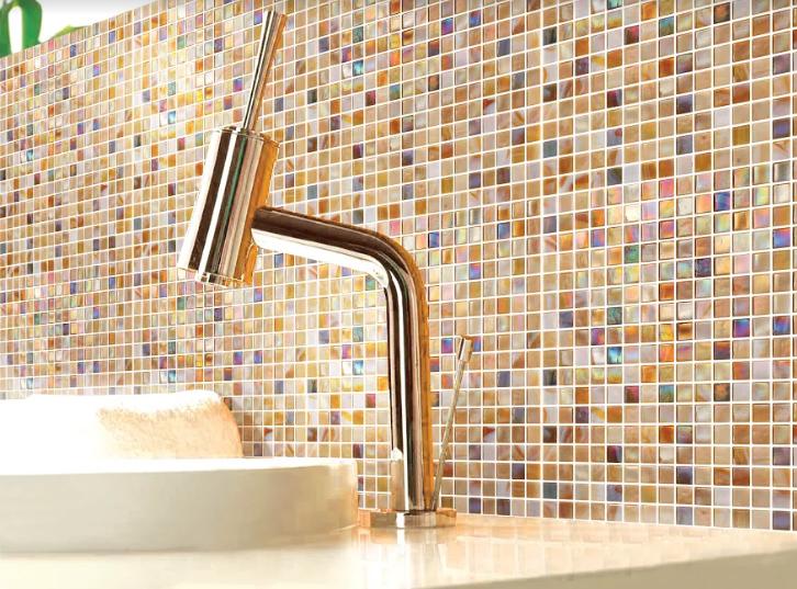 Mozaika Złota Kameleon Perla Ceramiczna Metropol Mm 0087 317 X 317