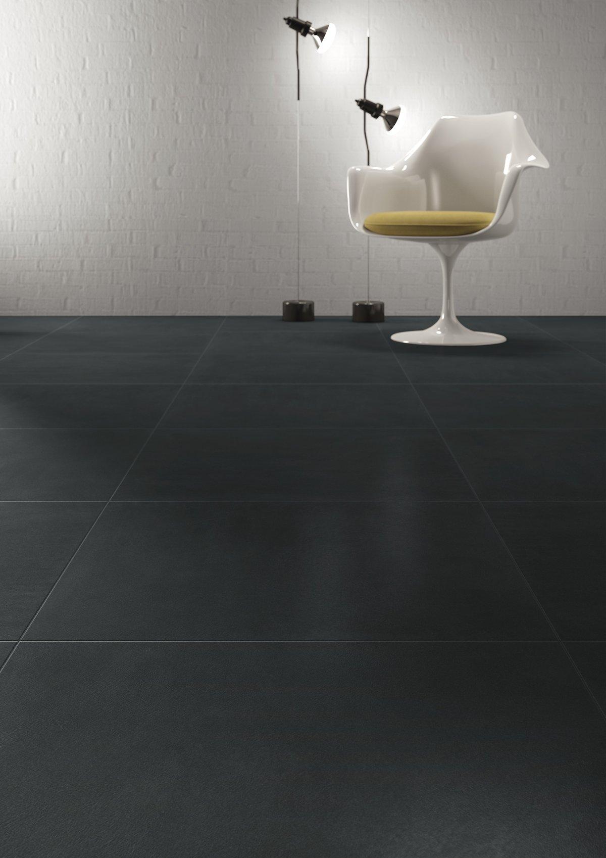 Płytki Kolor Czarny Porcelaingres Just Grey Super Black