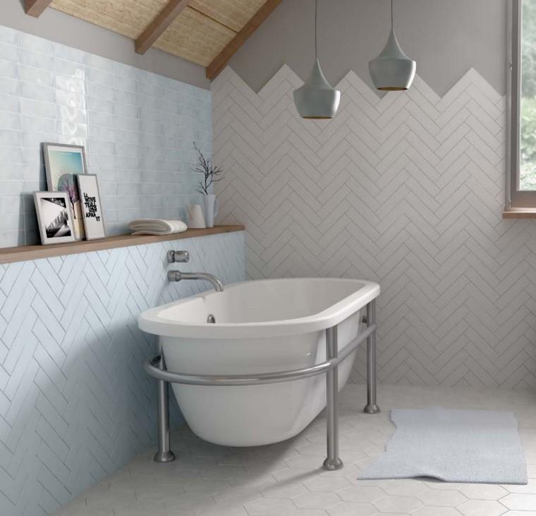 Płytki Imitujące Białe Cegiełki Equipe Dunas White Połysk 6x246