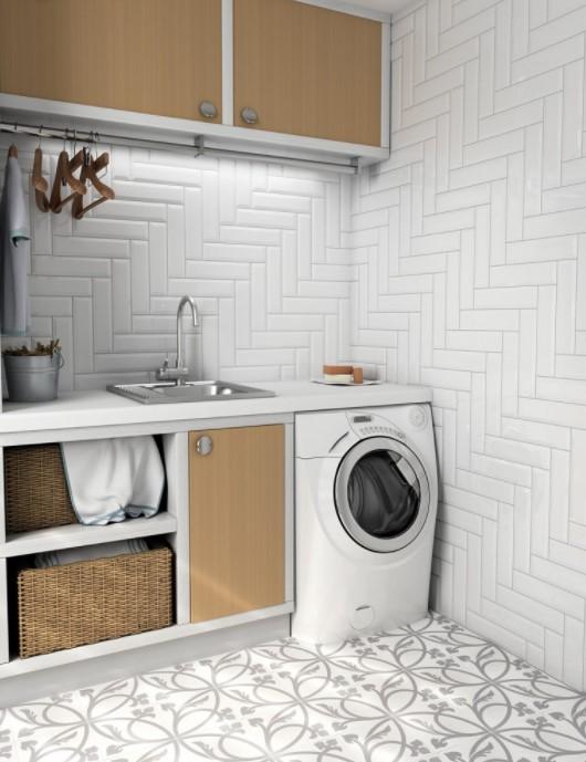 Płytki Cegiełki Equipe Metro White 75x15