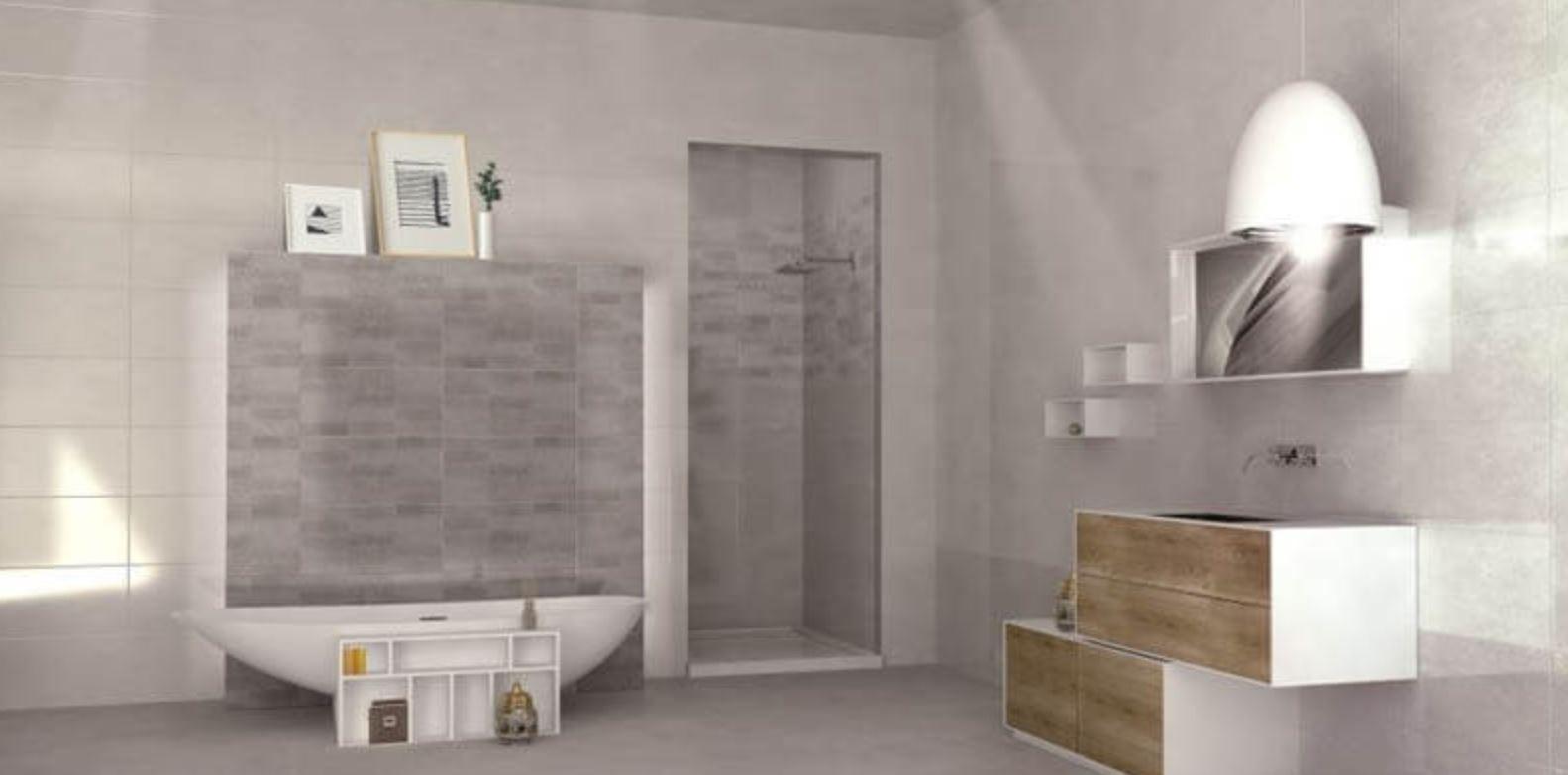 Płytki Do łazienki Dekor Ciegiełki Bez Jasny Azteca Ground R90 Guess Grey Dekor 30 X 90 Bnhb