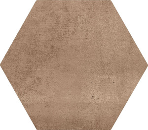 Gres heksagonalny ruda cegła Marazzi Clays  Hexagon Earth MM5Q 21X18,2