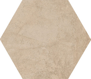 Gres heksagonalny beżowy  Marazzi Clays  Hexagon Sand MM5R 21X18,2