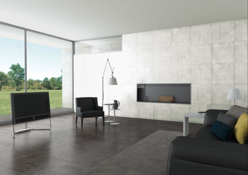 Płytki Imitujące Beton Aleluia Concrete Blend Semi Polido